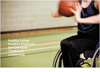 Positive sports wheelchair games