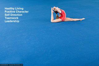 Positive Sports Gymnast