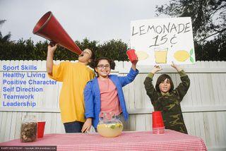 Positive sports lemonade
