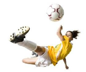 Soccer White Background